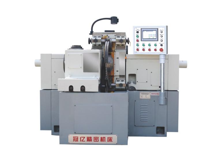 MY7640 Rotary table feeding horizontal shaft non hydraulic double face grinder