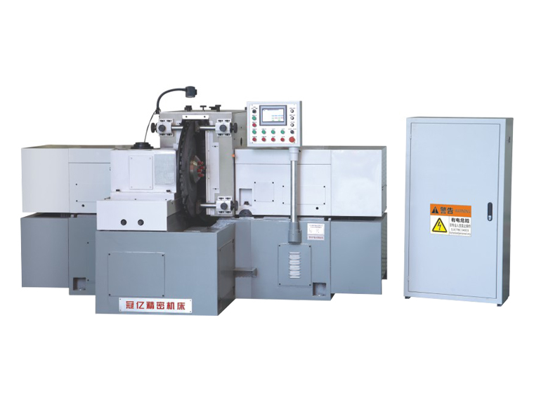 MY7660 Rotary table feeding horizontal shaft non hydraulic double face grinder