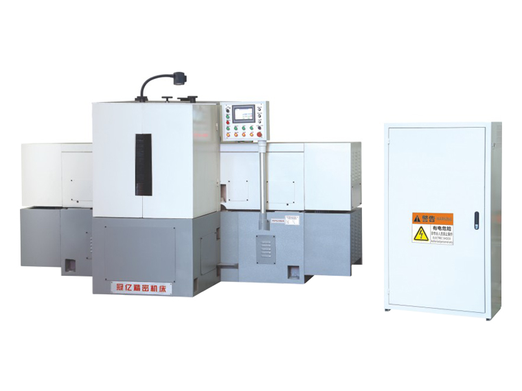MZ7660 No hydraulic double end grinding machine for horizontal shaft with the continuous feeding