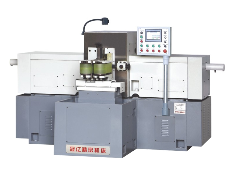 MZ7650 No hydraulic double end grinding machine for horizontal shaft with the continuous feeding