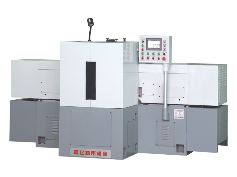 MZ7675 No hydraulic double end grinding machine for horizontal shaft with the continuous feeding